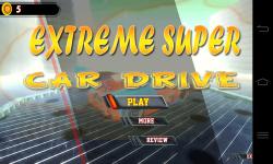 Extreme Super Car Drive 3D screenshot 1/6
