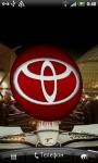 Toyota 3D Logo Live Wallaper screenshot 1/6