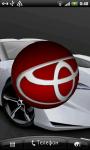 Toyota 3D Logo Live Wallaper screenshot 2/6