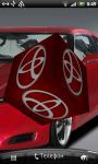 Toyota 3D Logo Live Wallaper screenshot 3/6