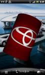 Toyota 3D Logo Live Wallaper screenshot 4/6