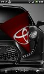 Toyota 3D Logo Live Wallaper screenshot 5/6