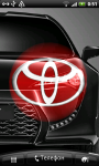 Toyota 3D Logo Live Wallaper screenshot 6/6