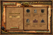 Attack The Fortress Gold screenshot 3/5