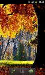 Forest Autumn Live Wallpaper screenshot 3/5