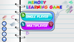 Memory Learning Game – Letters screenshot 5/5