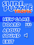 Slide Tropic Puzzle Free screenshot 3/6