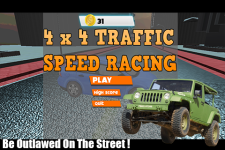 4x4 Traffic Speed Racing screenshot 1/3