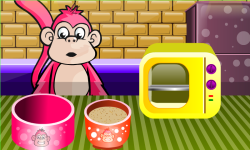 Fun Monkey Sweet Cake - Cooking Game screenshot 2/3
