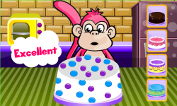 Fun Monkey Sweet Cake - Cooking Game screenshot 3/3