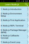 Learn Node js screenshot 1/2