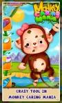 Monkey caring Mania Game screenshot 2/3