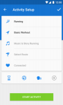 Runtastic PRO Corsa e Fitness secure screenshot 1/6