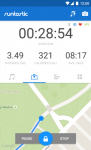 Runtastic PRO Corsa e Fitness secure screenshot 2/6