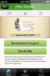 Mobile Coupons by CouponCabin for Android screenshot 3/6