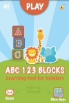 ABC 123 Blocks = Learning Tool For Toddlers LITE screenshot 1/1