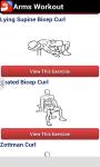 Arms Workout screenshot 3/6