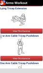 Arms Workout screenshot 4/6