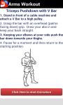 Arms Workout screenshot 6/6