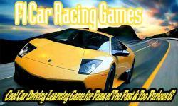 F1 Car Racing 3D Games - Cool Driving Learning HD screenshot 1/6