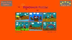 Cartoon Dinosaur Puzzle screenshot 1/4