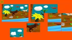 Cartoon Dinosaur Puzzle screenshot 2/4