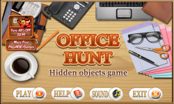 Free Hidden Object Game - Office Hunt screenshot 1/4