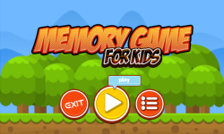 Memory Game 2017 screenshot 1/5