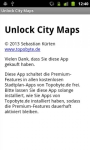 Unlock City Maps emergent screenshot 1/4