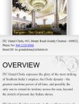 ITC Grand Chola screenshot 3/6