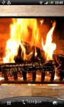 Fireplace LWP screenshot 1/2