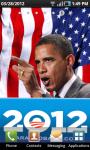 Barack Obama Campaign Live Wallpaper screenshot 1/3