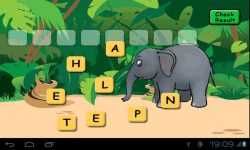 Animals Scrabble screenshot 2/3