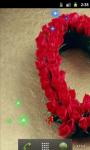 Heart Red Roses Live Wallpaper screenshot 1/5