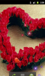 Heart Red Roses Live Wallpaper screenshot 2/5