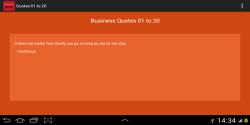 Inspiring Business Quotes screenshot 2/3