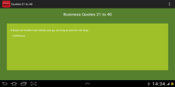 Inspiring Business Quotes screenshot 3/3