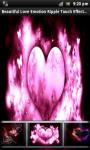 Love Emotion Touch Live Wallpaper screenshot 1/4