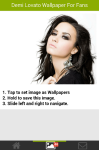 Demi Lovato Wallpapers for Fans screenshot 2/6