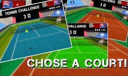 Title:  Tennis 3D – World Championship 2015 screenshot 1/4