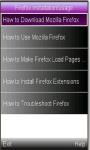 Firefox Install/Use New screenshot 1/1