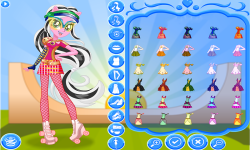 Lemon Zest Roller Skates Style screenshot 4/4