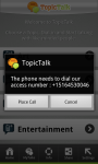 TopicTalk screenshot 2/2
