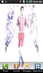 Lionel Messi Angel Live Wallpaper screenshot 1/3