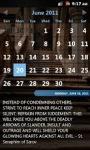 Faith Calendar  screenshot 2/3