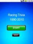 Racing Trivia screenshot 1/1