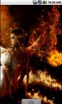 Fire Angel Lovely Live Wallpaper screenshot 1/4
