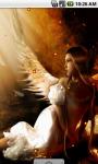 Fire Angel Lovely Live Wallpaper screenshot 2/4