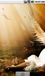 Fire Angel Lovely Live Wallpaper screenshot 3/4