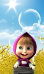 Cute Masha and the bear HD Wallpaper screenshot 2/6